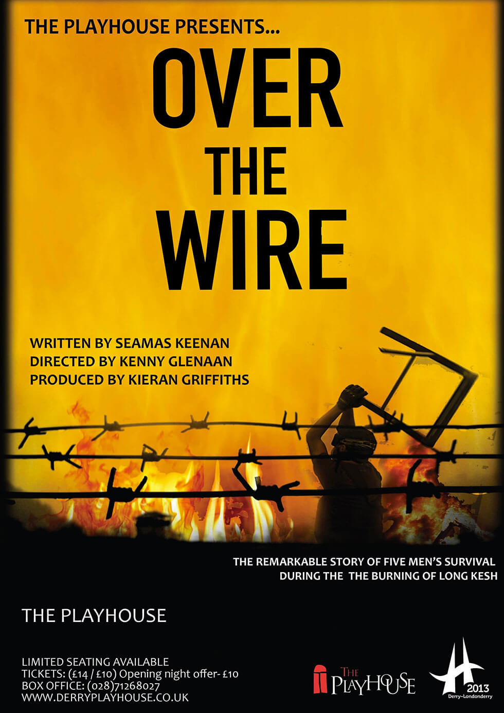 Over The Wire Poster